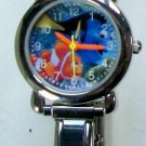 Brand-New Disney Finding Nemo Italian Charm Watch! Adorable! HTF!