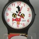 Disney New Lorus Animated Mickey Mouse Watch! New! HTF! HUGE DISNEY WATCH SALE!