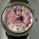 Disney Animated Minnie Mouse Watch! New!  Very Rare! Legs Move Back and Forth!