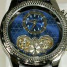 Brand-New Automatic Mens Elgin Watch! Skeleton Back! Subdial! Stunning!
