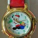 Brand-New Disney Lorus Musical Mickey Mouse Watch! Plays Jingle Bells!