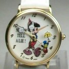 New Disney Pts. To Time Pinnochio & Jiminy Cricket Watch! Nose Grows! HTF!