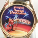Disney Annual Passholders Sorcerer Mickey Mouse Watch! New! Hard To  Find!