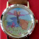 New Disney Animated Winnie the Pooh Watch! Butterfly Moves! HTF! Retired!