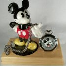 Brand-New Disney Fossil Limited Edition Mickey Mouse Pocket Watch! HTF!
