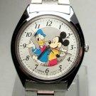 Brand-New Disney Lorus Donald Duck & Mickey Mouse Watch! HTF! Gorgeous!