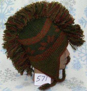 Mohawk Wool Winter Snowboard Hat 0f68d3c462b1