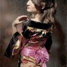 Japanese Satin Charmeuse Kimono Set One Size