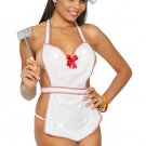 Sexy Chef Cook Sweetie Costume One Size