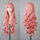Cosplay Anime Long Wig pink