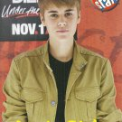 "Justin Bieber Brown Jacket 8"" x 10"" Mini Pin Up"