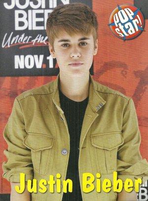 "Justin Bieber Brown Jacket 8"" x 10"" Mini Pin Up"