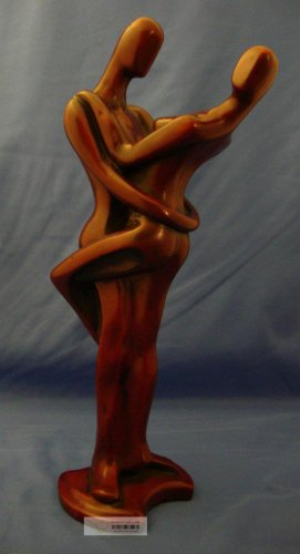 "12"" High Quality Handmade Couple Rare Resin Statue - Valentine's Day Gift"