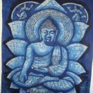 "38/498"" Rare High Quality Handmade Shakyamuni Buddha Batik Wall hanging"