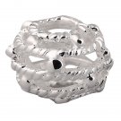 925 Sterling Silver Large Hole Charm Bead fits Pandora Bracelet JA70