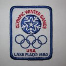 1980 Lake Placid U.S.A. Olympics Cloth Patch