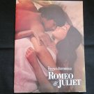 Romeo & Juliet Souvenir Program (1968 Movie)