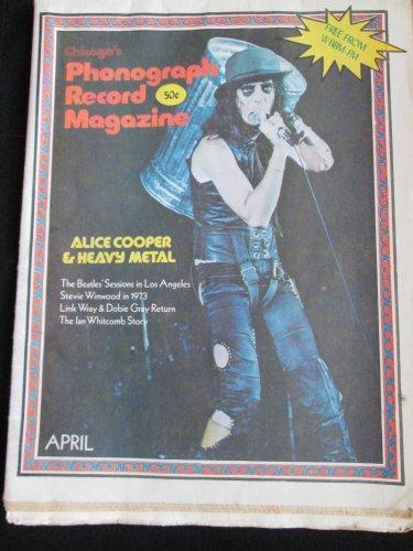 Phonograph Record Magazine, April 1973-Alice Cooper & Heavy Metal (Vintage)