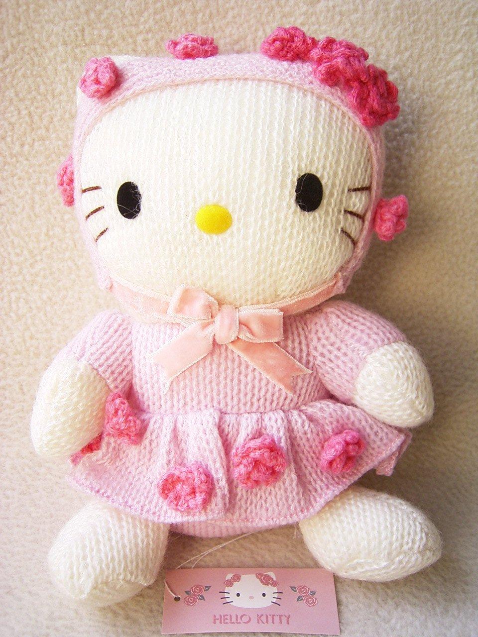 Knitting Games Hello Kitty : Sanrio japan amigurumi hello kitty knitting wool