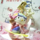GOTOCHI HELLO KITTY Kawaii Mascot Figure Strap Winter Season Sanrio JAPAN 2001