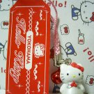GOTOCHI HELLO KITTY Kawaii Mascot Strap YOKOHAMA Sanrio 2000 MADE IN JAPAN