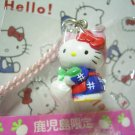 GOTOCHI HELLO KITTY Kawaii Mascot Strap Turnip KAGOSHIMA JAPAN Sanrio 2002