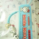 GOTOCHI HELLO KITTY SAITAMA JAPAN Only! Figure Strap Rhinoceros Sanrio 2002 NEW SALE!