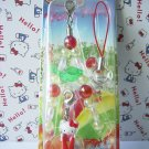 GOTOCHI HELLO KITTY Kawaii Mobile Phone Charm Strap Apple SHINSHU JAPAN Limited