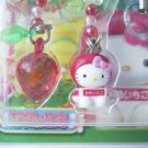 GOTOCHI HELLO KITTY Kawaii Mobile Phone Charm Strap Strawberry SHIZUOKA JAPAN