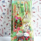 GOTOCHI HELLO KITTY Kawaii Mobile Cell Phone Charm Mascot Strap HIDA JAPAN NEW