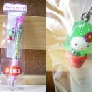 GOTOCHI HELLO KITTY Figure Ballpoint Pen SHIZUOKA IZU SABOTEN MADE IN JAPAN NEW!