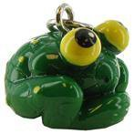 Roly Poly Big Eyed Frog Charm