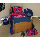 NCAA Ole Miss (Mississippi) Rebels Bed in a Bag Twin / Twin XL