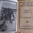 THE LAST OF THE PLAINSMEN ZANE GREY