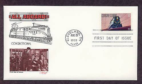 Congressional, Pennsylvania Railroad, GG1 Locomotive First Issue USA