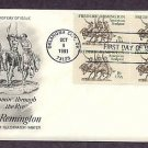 Frederic Remington, Comin through the Rye, Western Art First Issue USA