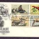 Wildlife Animals, Seal, Cardinal, Pelican, Sheep, First Issue USA