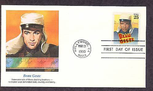 Honoring Beau Geste, Gary Cooper, Hollywood First Issue USA