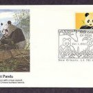 Giant Panda Bear, Ailuropoda melanoleuca, First Issue USA
