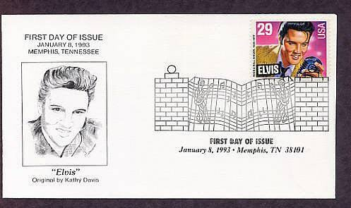 Elvis Presley , Rock and Roll Singer, Memphis, Tennessee, First Issue USA