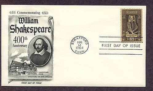 Honoring William Shakespeare, First Issue USA