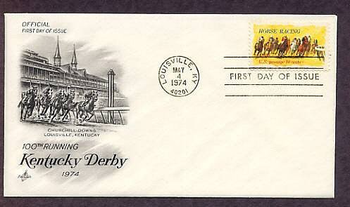 Horse Racing Kentucky Derby 100th Running, Churchill Downs First Issue USA