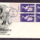 Honoring Edith Wharton American Novelist, First Issue USA