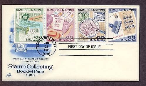 Celebrating the Hobby of Postage Stamp Collecting First Issue FDC USA