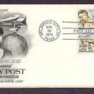 Honoring Aviation Pioneer Wiley Post, Air Mail First Issue USA
