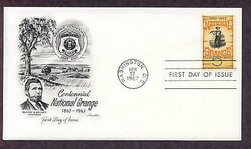 Centennial National Grange, Oldest National Agricultural Organization First Issue USA