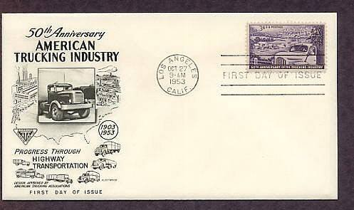 American Trucking Industry, Trucks, First Issue USA 1953