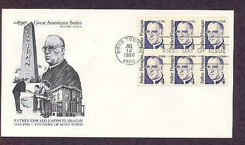 Father Edward Joseph Flanagan, Founder of Boys Town, Nebraska, First Issue USA