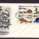 U.S. Postal Service, USPS, Bicentennial, Locomotives, Airplanes, Stagecoach, Truck, First Issue 1975