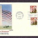 Washington Monument, George Washington, First Issue USA